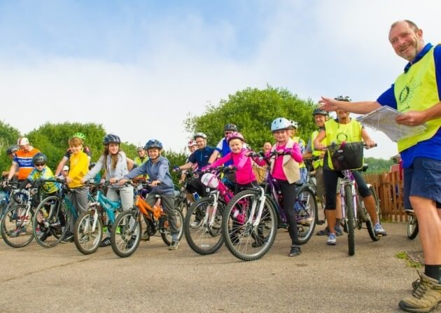 The Annual Ron Sampson Charity Cycle Ride 2017