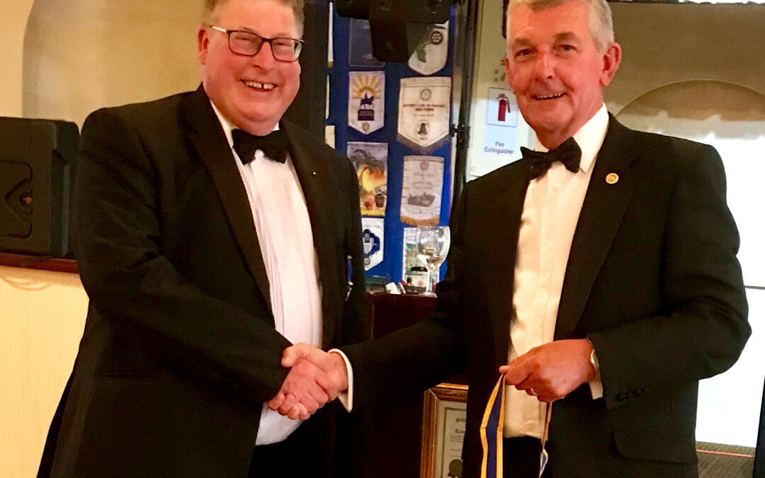 Lowestoft East Point Rotary Club Handover Evening