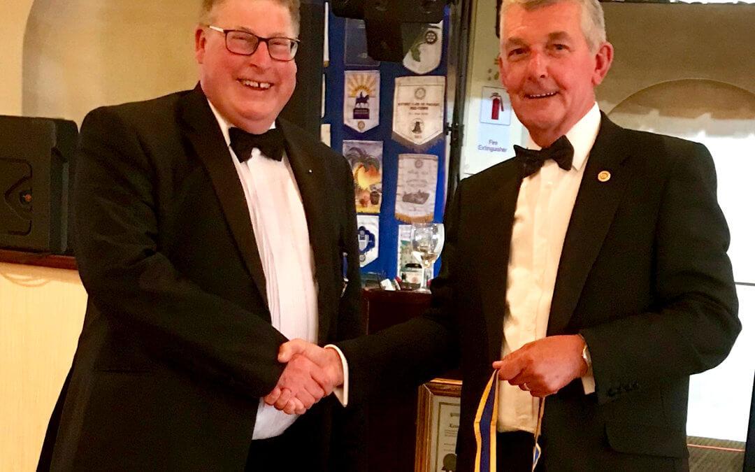 Lowestoft East Point Rotary Club Handover Evening