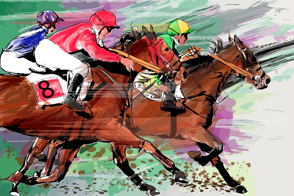 East Point Rotary Horse Racing Event