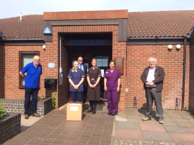 Rotary in Lowestoft Helps Front Line NHS Staff and Care Workers with Scrubs