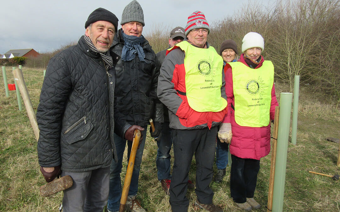 East Point Rotary Tree Planting Project
